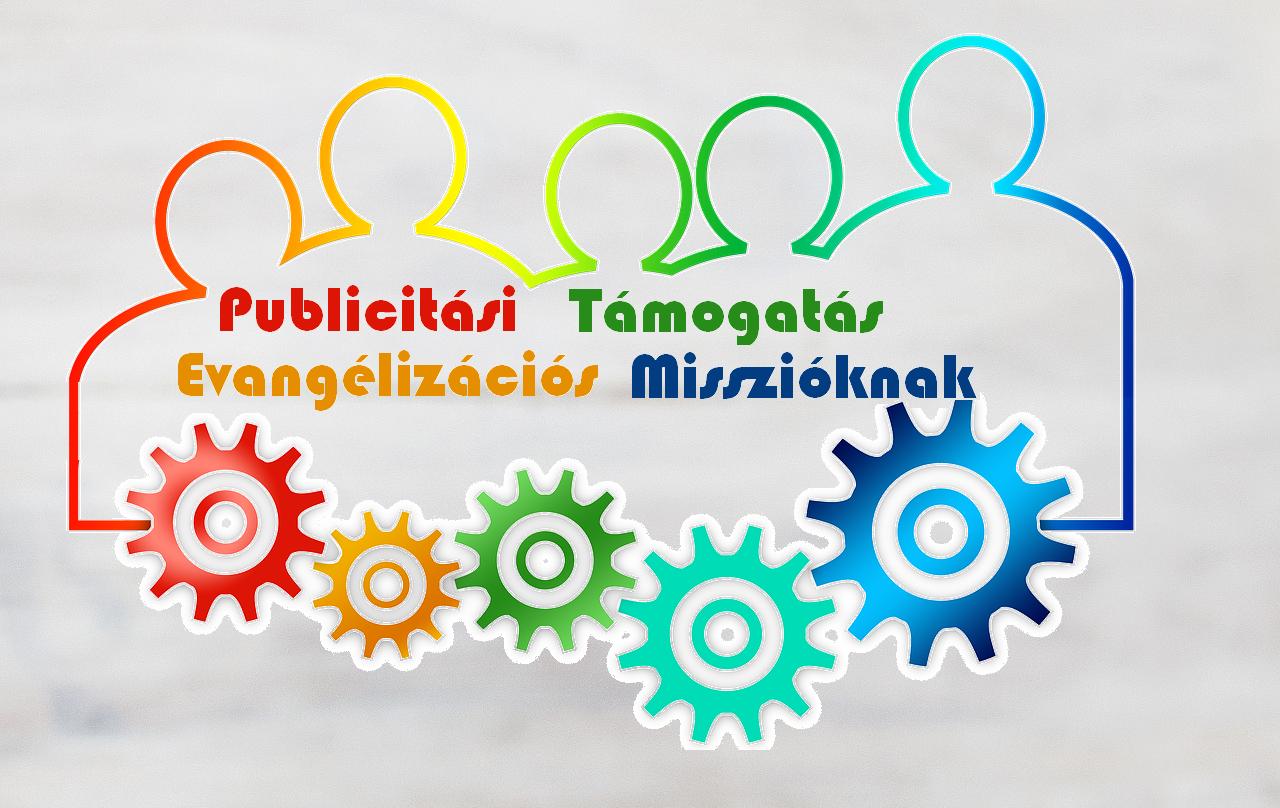 PUBLICITÁSI TÁMOGATÁS EVANGÉLIZÁCIÓS MISSZIÓKNAK